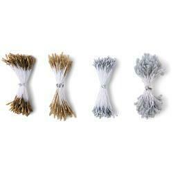Sizzix Making Essential Flower Stamens 300/Pkg Metallic