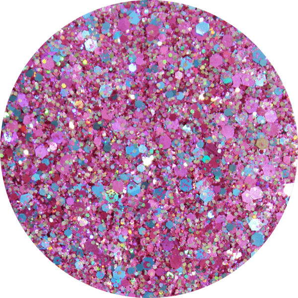 Glitter solvent resistant glitter - Moxie