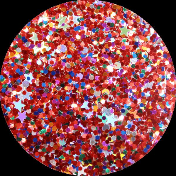 Glitter solvent resistant glitter - Xmas Lights