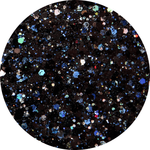 Glitter solvent resistant glitter - City Lights
