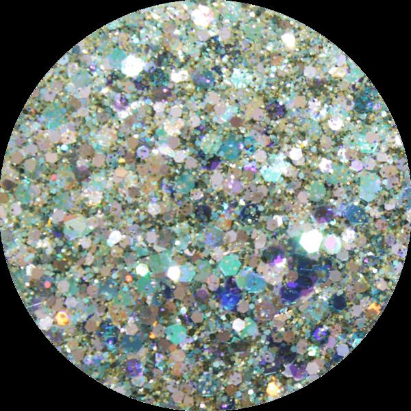 Glitter solvent resistant glitter -Triton