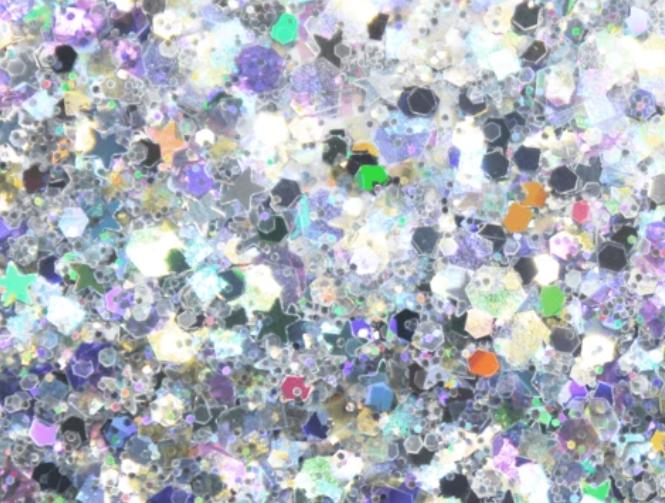 Glitter solvent resistant glitter -Snow Quen