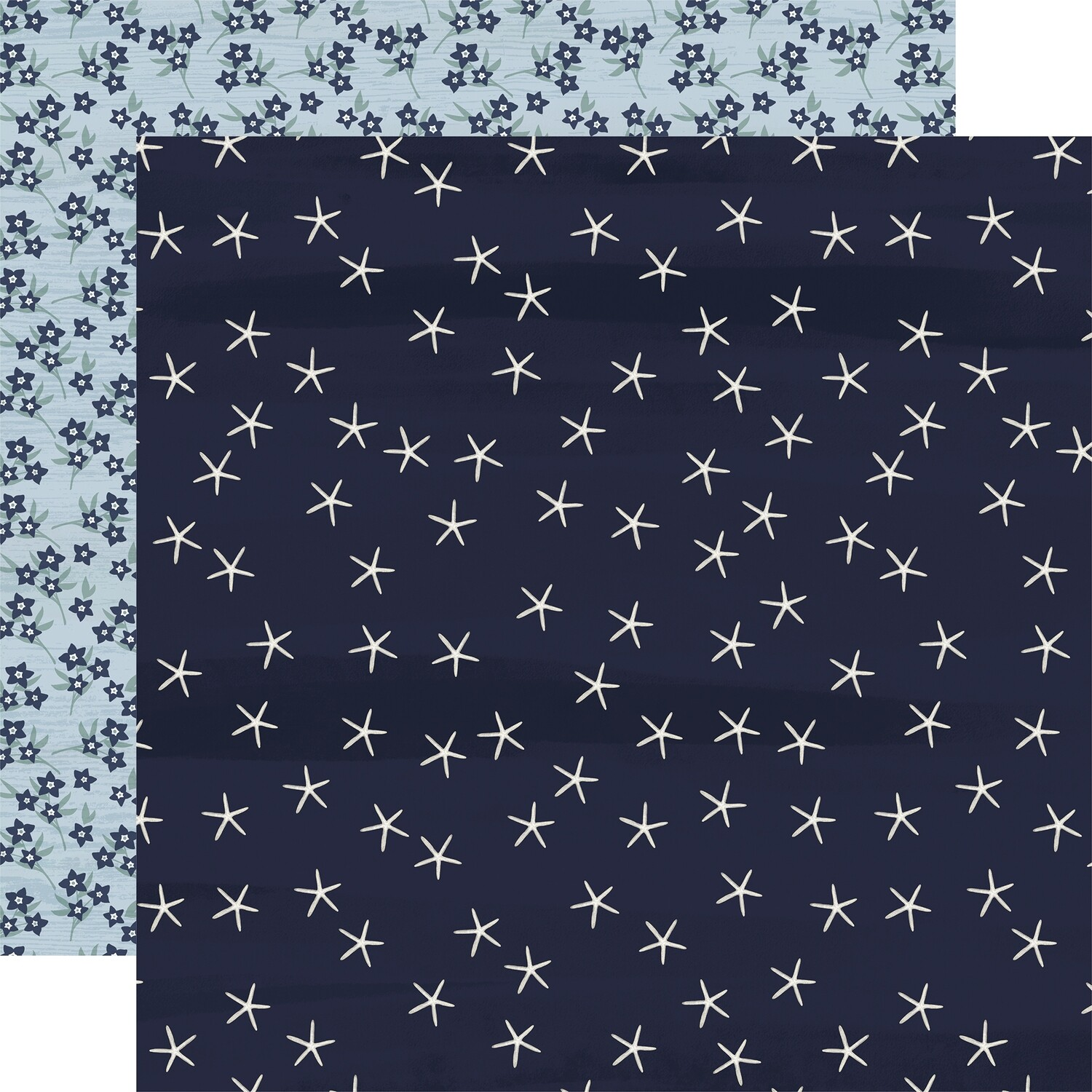 """By The Sea Double-Sided Cardstock 12""""X12""""  Starfish"""