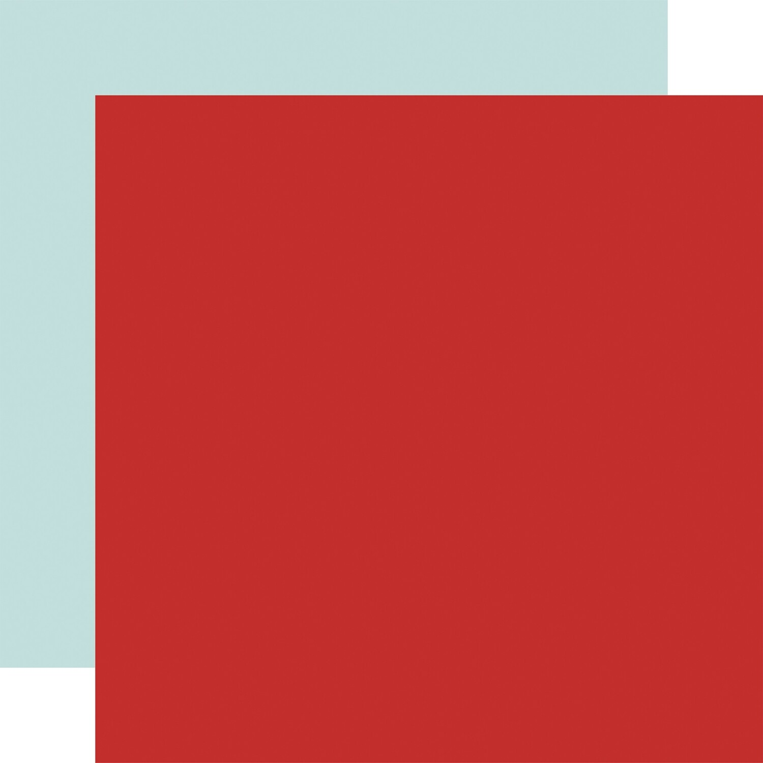 """By The Sea Double-Sided Cardstock 12""""X12""""  Red/Sky Blue"""