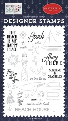Carta Bella Stamps Ahoy There By The Sea Stamps