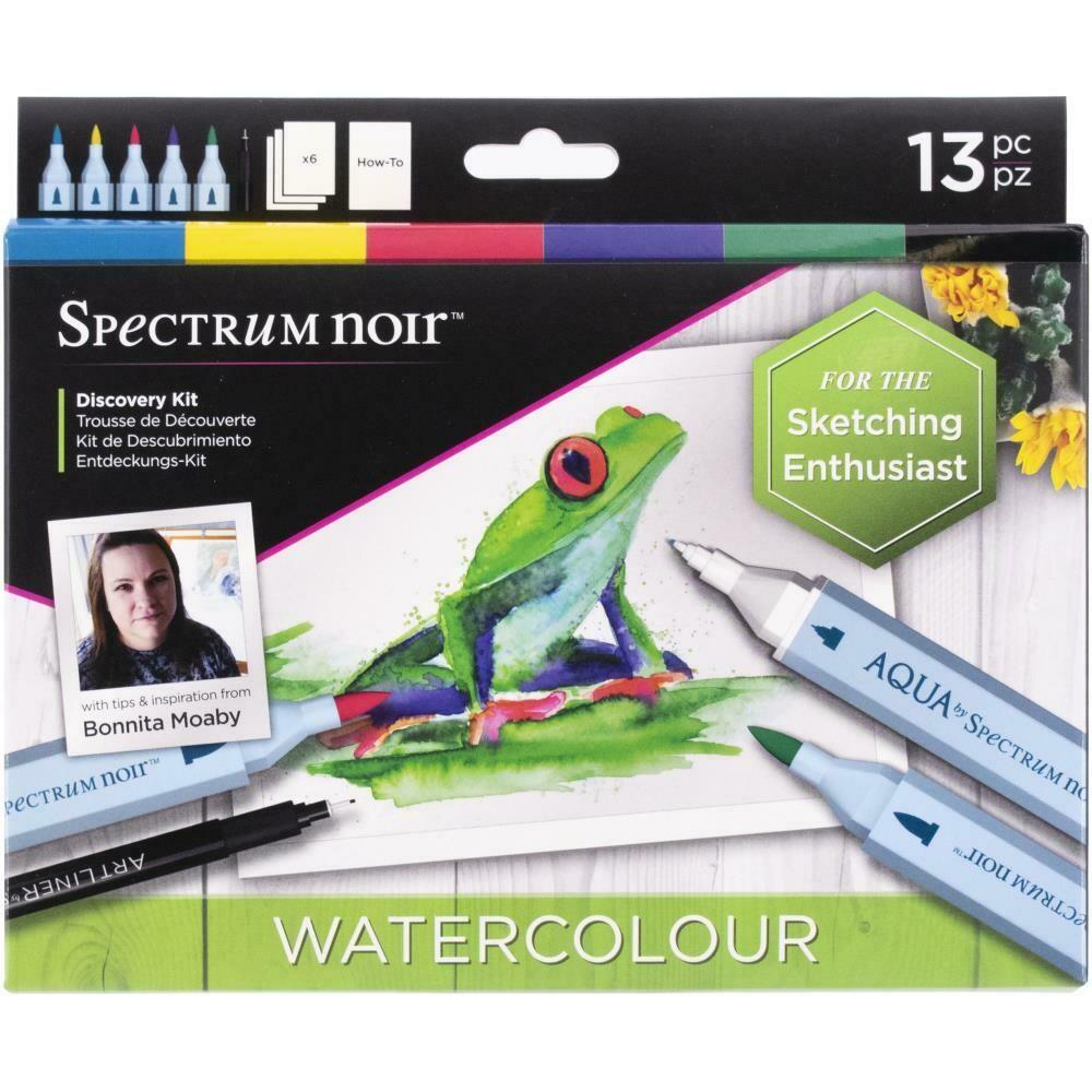 Spectrum Noir Discovery Kit Watercolour