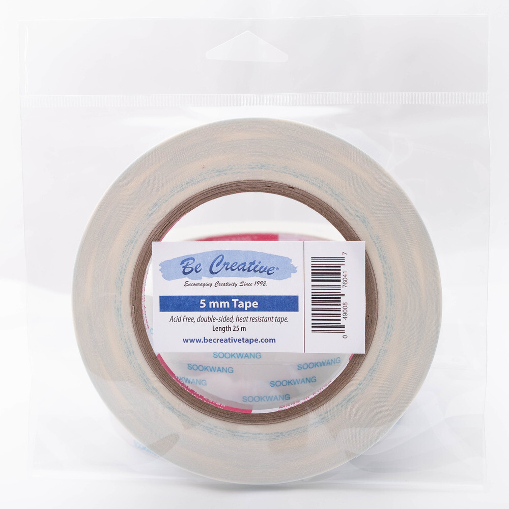 """Be Creative Tape, 5mm (0.20"""") 27yd"""