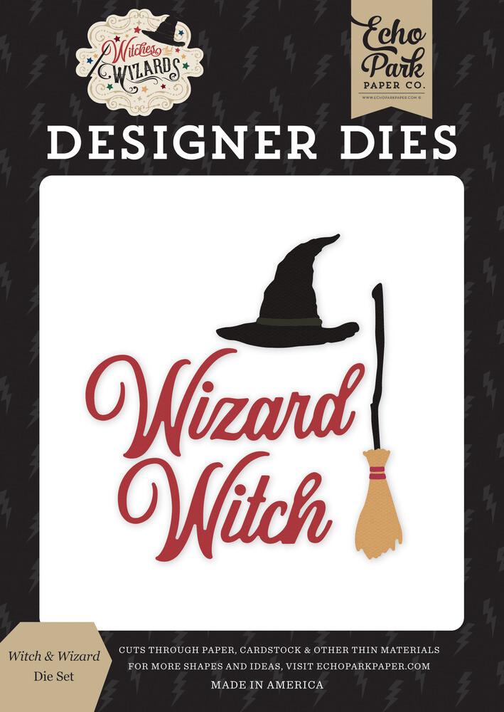 Echo Park Dies Witch & Wizard, Witches & Wizards
