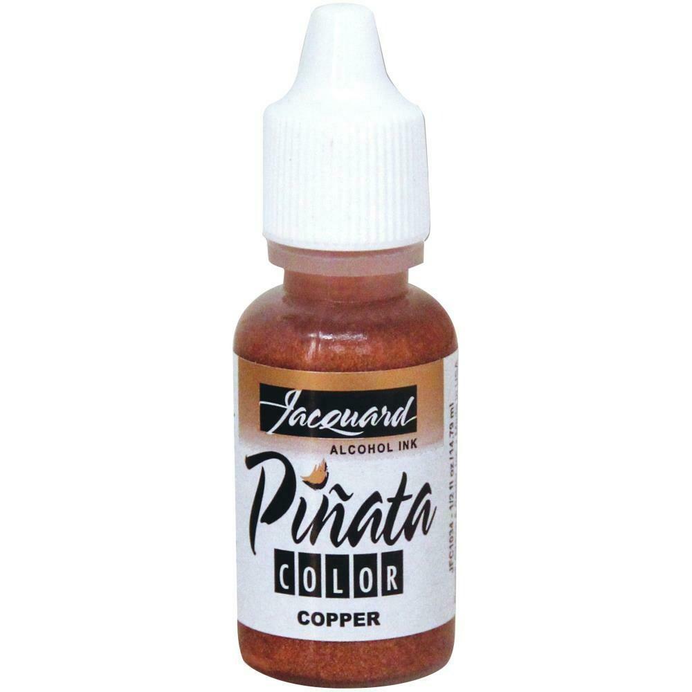 Jacquard Pinata Color Alcohol Ink .5oz Copper