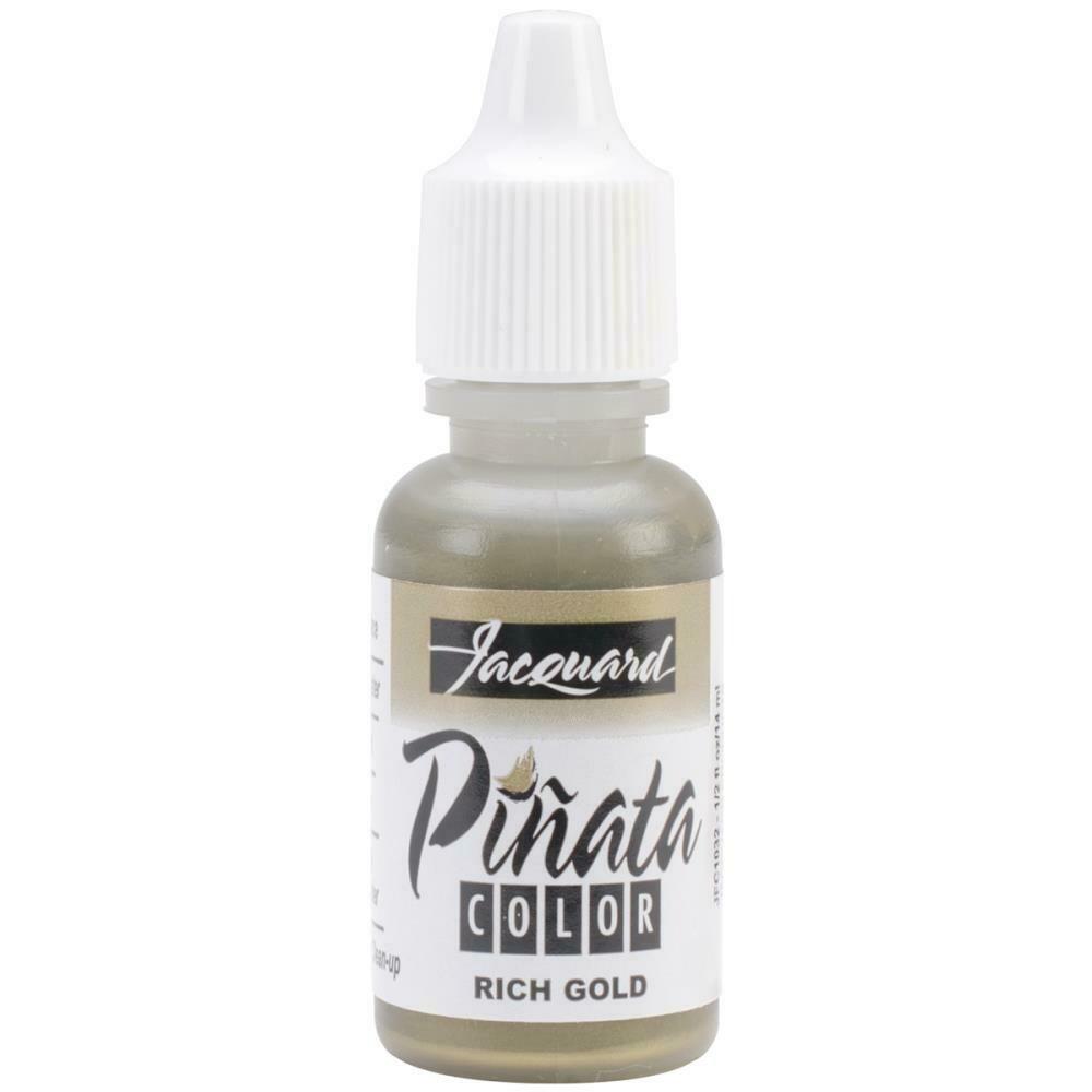 Jacquard Pinata Color Alcohol Ink .5oz Rich Gold