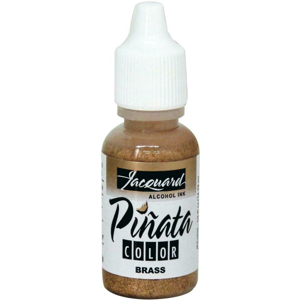 Jacquard Pinata Color Alcohol Ink .5oz Brass