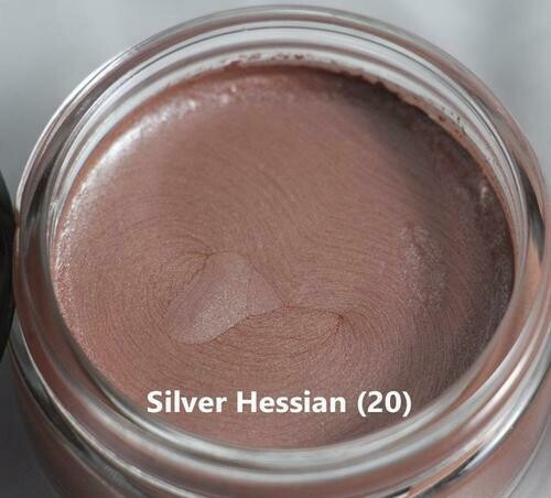 Metallic Gilding Polish by Creative Expressions Silver Hessian