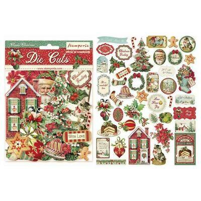 Stamperia Die-Cuts Classic Christmas