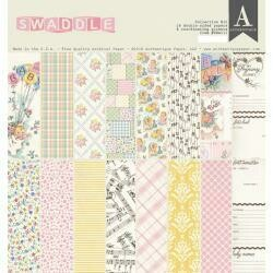 """Authentique Collection Kit 12""""X12"""" Swaddle Girl"""
