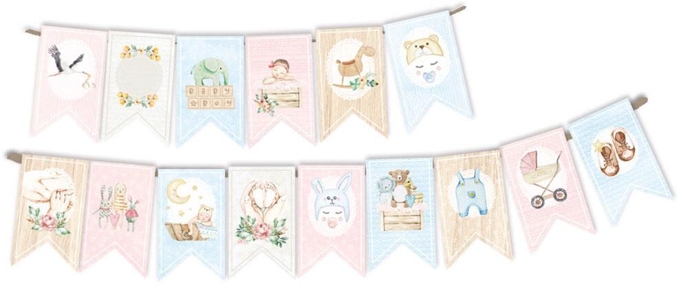 P13 Die Cuts, Baby Joy (Banner)