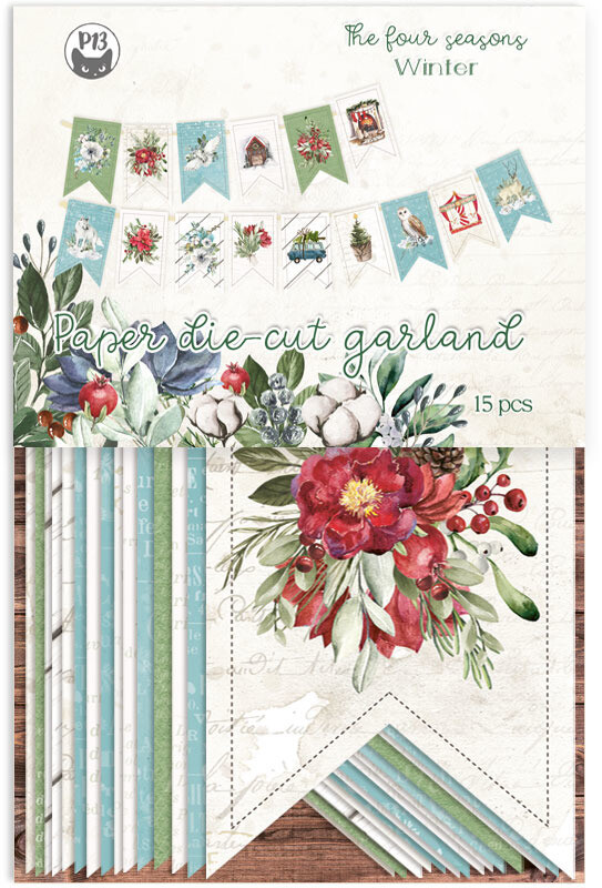 P13 Die Cuts, The Four Seasons - Winter (Garland)