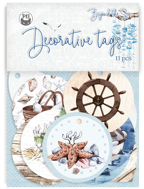 P13 Decorative Tags, Beyond the Sea 01