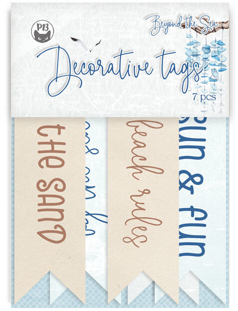 P13 Decorative Tags, Beyond the Sea 02