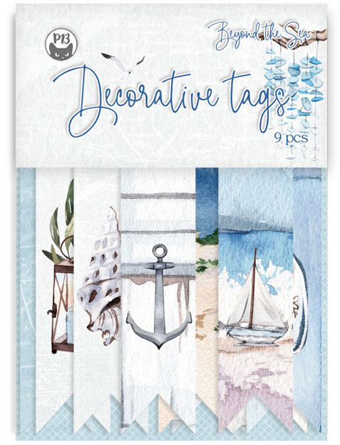 P13 Decorative Tags, Beyond the Sea 03