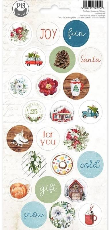 P13 Sticker Sheet, The Four Seasons - Winter 03