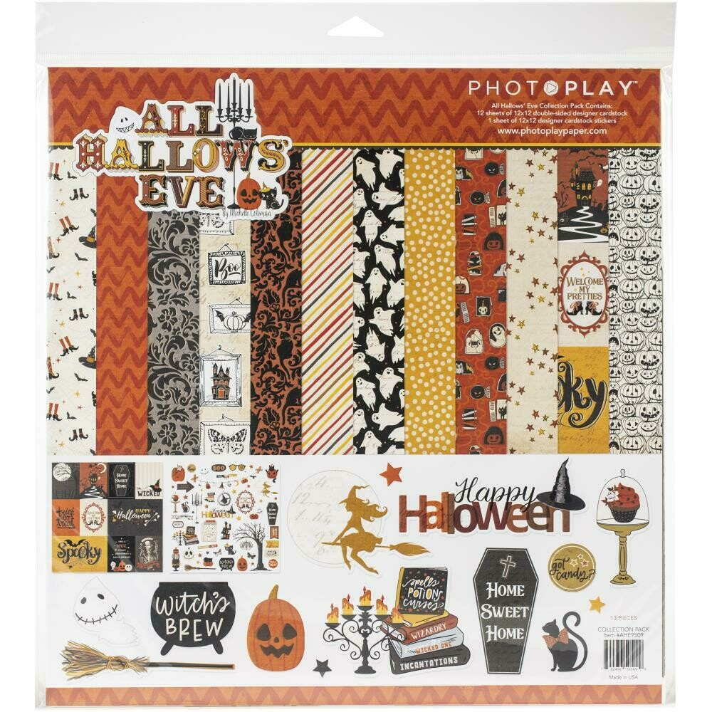 All Hallows Eve 12X12 Collection Pack by Photoplay