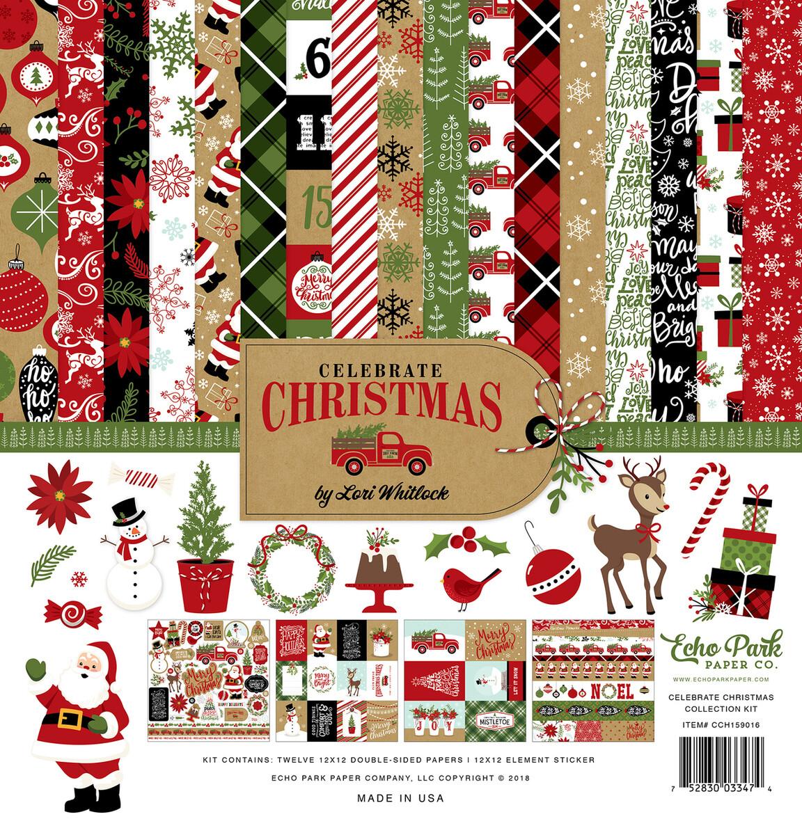 Echo Park Celebrate Christmas Collection Kit