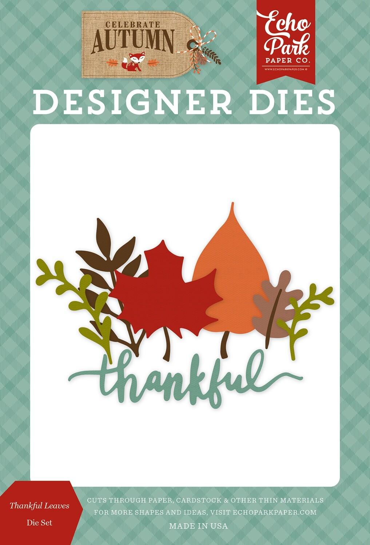 Echo Park - Celebrate Autumn Thankful Leaves Die Set