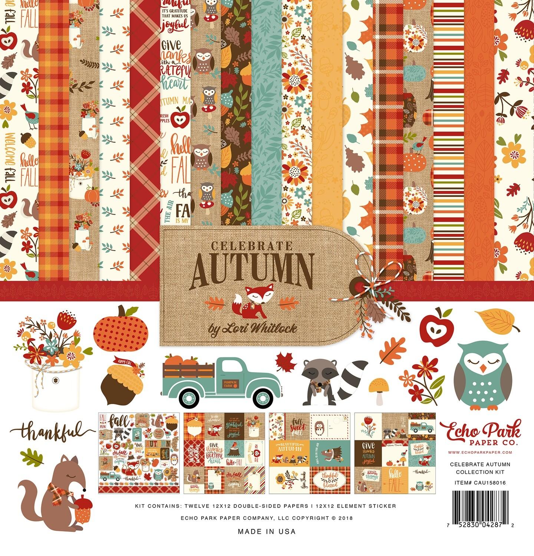 Echo Park Celebrate Autumn Collection Kit