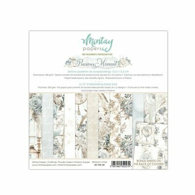 Mintay Papers Precious Moment 6x6 paper pad