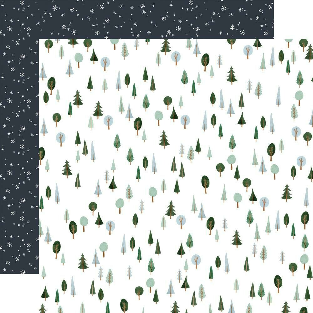"Winter Market-I Love Winter- 12""X12"" sheet"