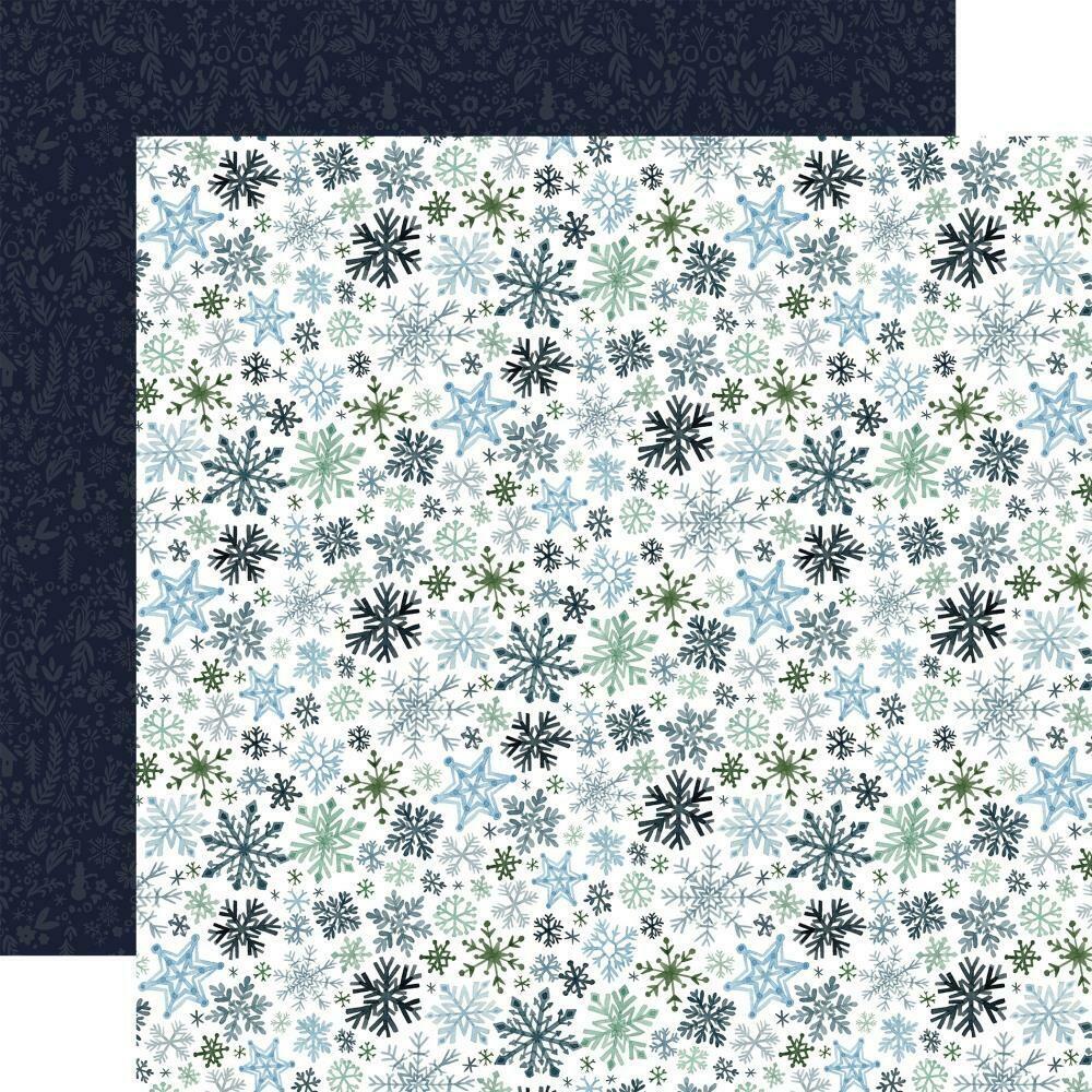"Carta Bella Winter Market-Let it Snow- 12""X12"" sheet"