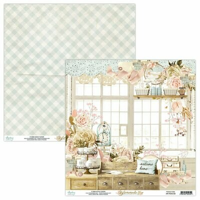Mintay Papers Homemade 12 x 12 sheet #3