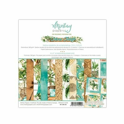 Mintay Papers Urban Jungle 6x6 paper pad