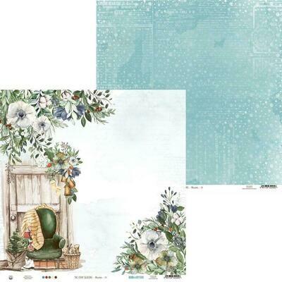 "P13 The Four Seasons-Winter #3 12""X12"" Sheet"
