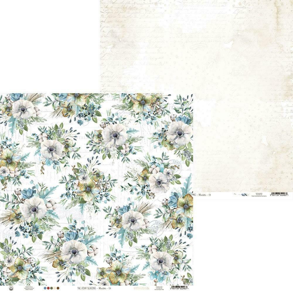 "P13 The Four Seasons-Winter #4 12""X12"" Sheet"