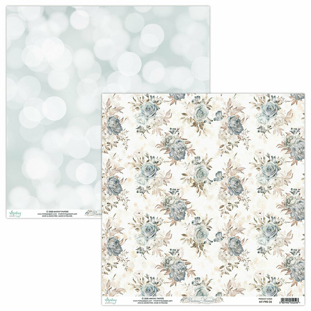Mintay Papers PRECIOUS MOMENT 12 x 12 sheet #5