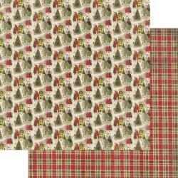 "Authentique A Magical Christmas #4 12""X12"" Paper Sheet"