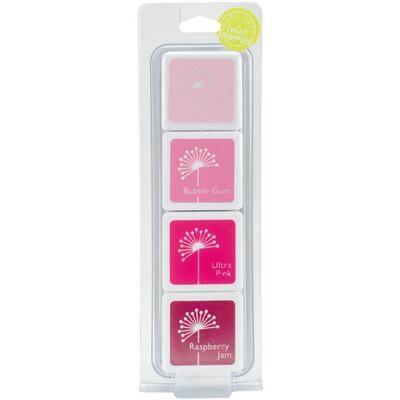 Hero Arts Dye Ink Cubes 4/Pkg May's Shades Of Pink