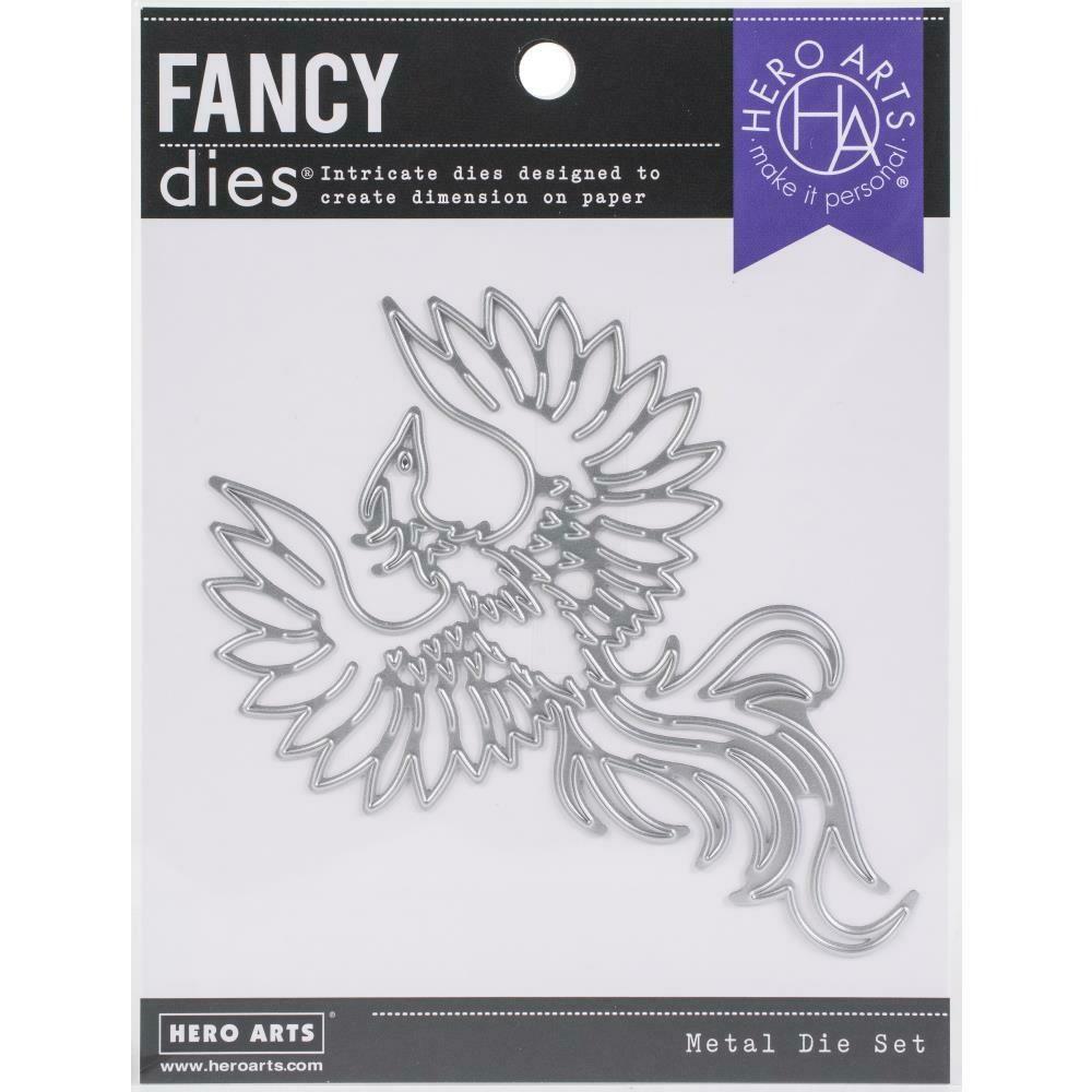 Hero Arts Fancy Dies Phoenix Bird