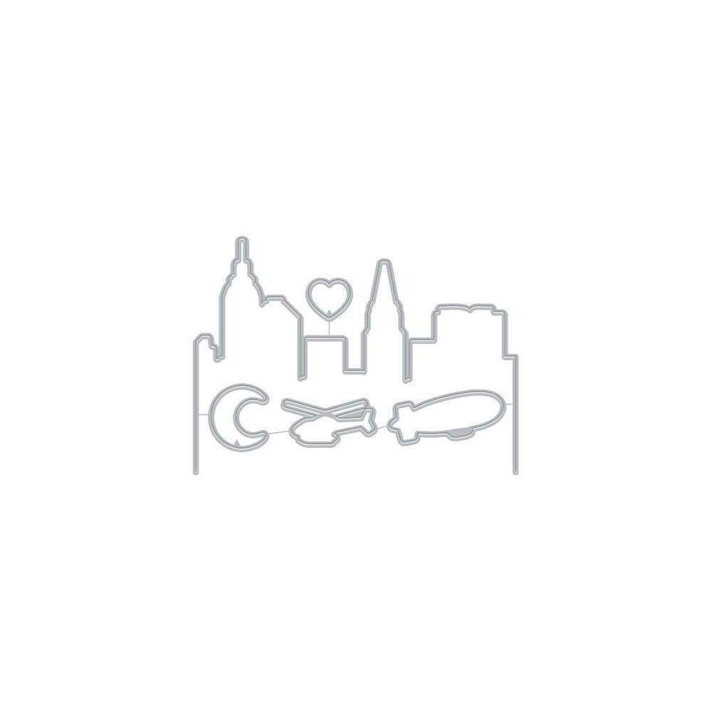 Hero Arts Frame Cut Dies City Heroscape