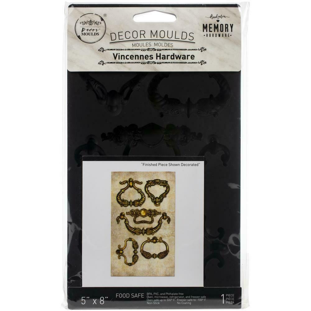 "Prima Marketing Re-Design Mould 5""X8""X8mm Vincennes Hardware"