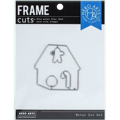 Hero Arts Color Layering Frame Cut Dies Gingerbread House