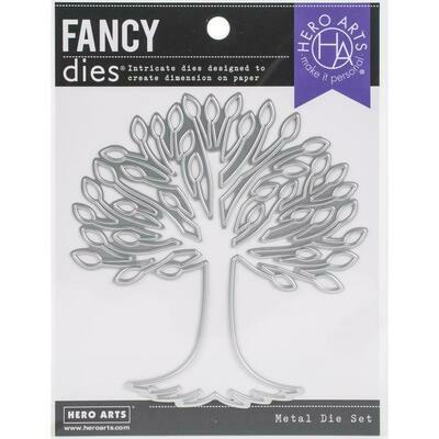 Hero Arts Fancy Dies Tree With Roots