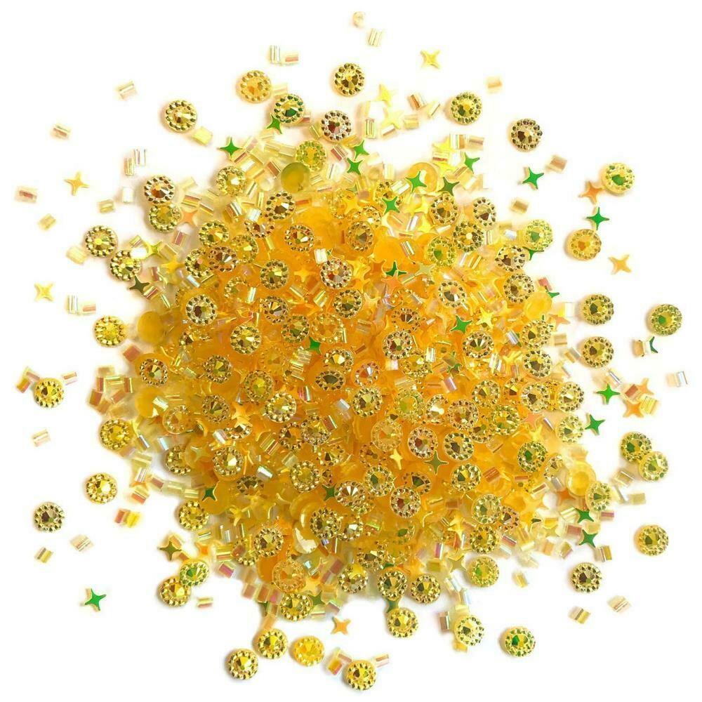 Doo Dadz Embellishments - Gold Rush