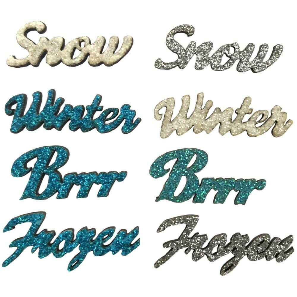 Sparkling Sentiments 8/Pkg - Winter