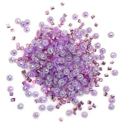 Doo Dadz Embellishments - Purple Rain