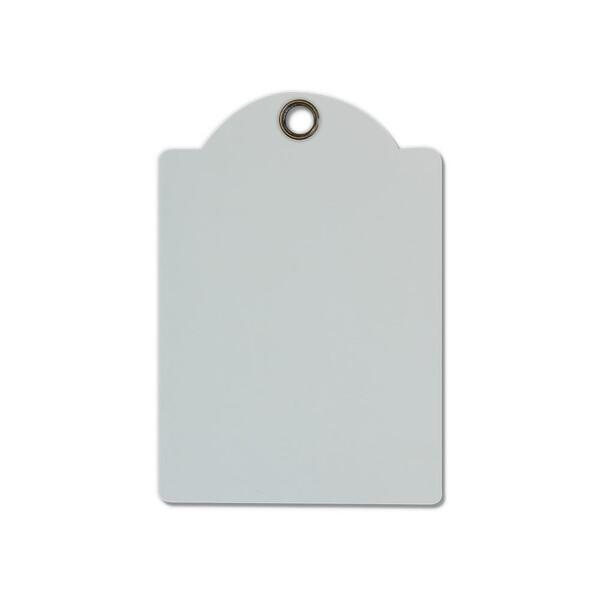 Tags,  White 10x14.5cm -  (4pc)