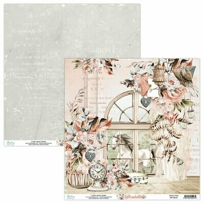 Mintay Papers Florabella 12 x 12 sheet #1
