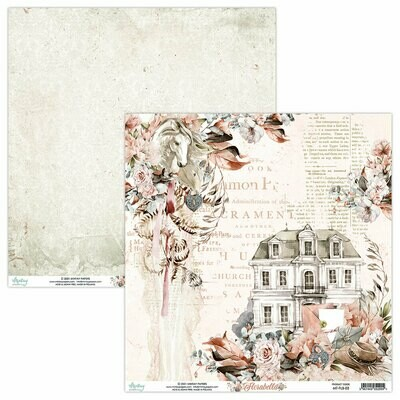 Mintay Papers Florabella 12 x 12 sheet #3