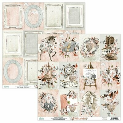 Mintay Papers Florabella 12 x 12 sheet #6
